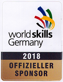 worldskills Germany 2018 - Offizieller Sponsor